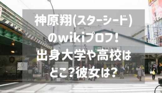 神原翔(スターシード)のwikiプロフ!出身大学や高校はどこ?彼女は?