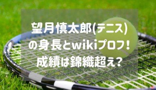 望月慎太郎(テニス)の身長とwikiプロフ!戦績は錦織超え?