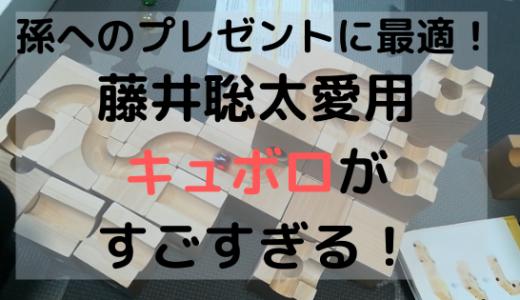 【孫へプレゼント】藤井聡太愛用おもちゃ「キュボロ」がすごすぎる!